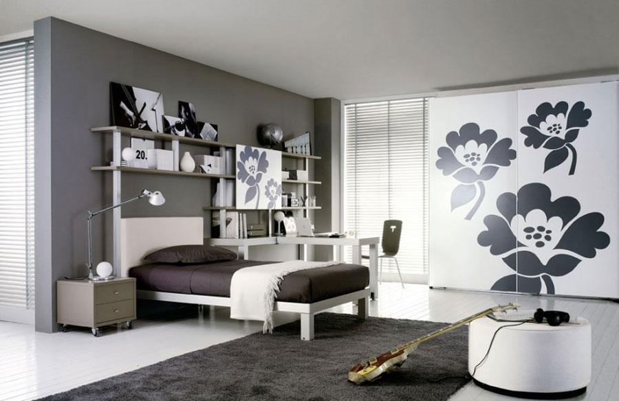 Gray Bedroom Interior Design-14 Gray bedroom interior design that looks pretty good