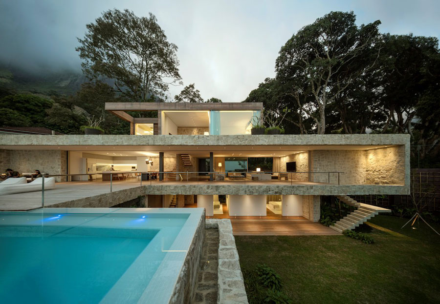 Casa-AL-by-Studio-Arthur-Casas Brazilian Architecture - Beautiful homes by talented architects