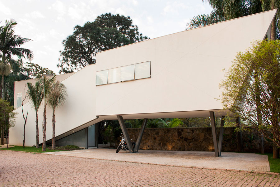Offset-House-by-Shieh-Arquitetos-Associados Brazilian Architecture - Beautiful houses by talented architects