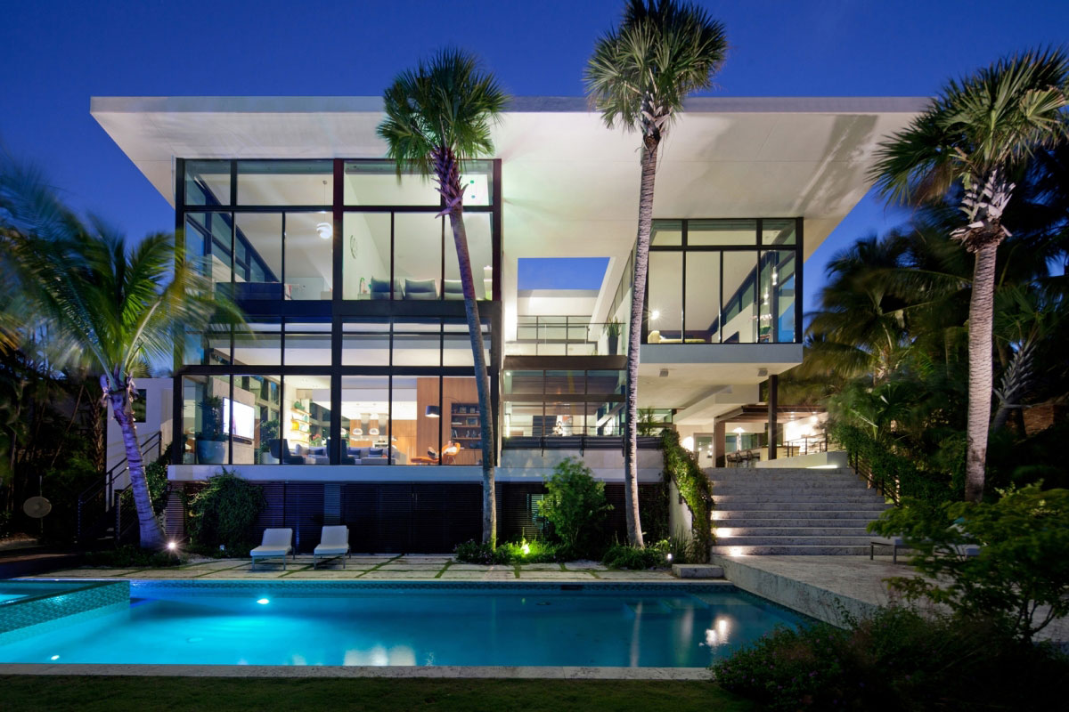 Coral-Gables-Residenz-von-Touzet-Studio House Architecture Gallery - Great inspiration