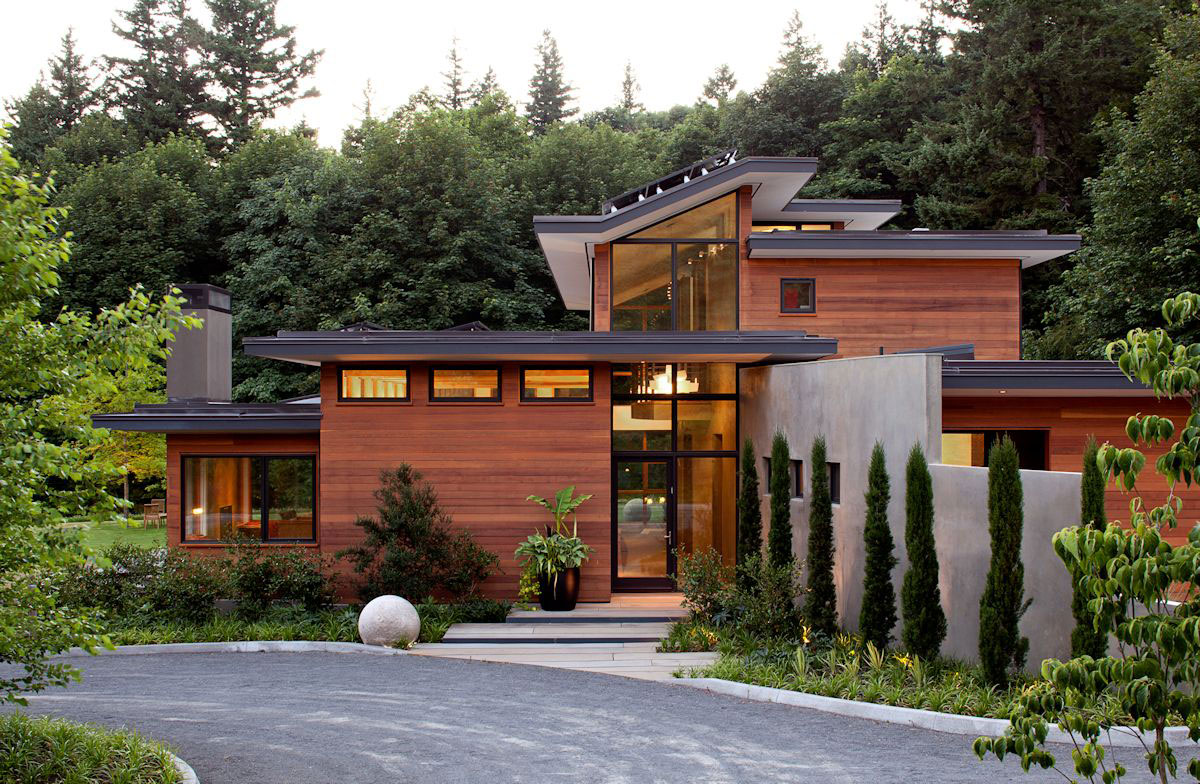 Modern single-family home with contemporary furnishings-3 Modern single-family home with modern furnishings