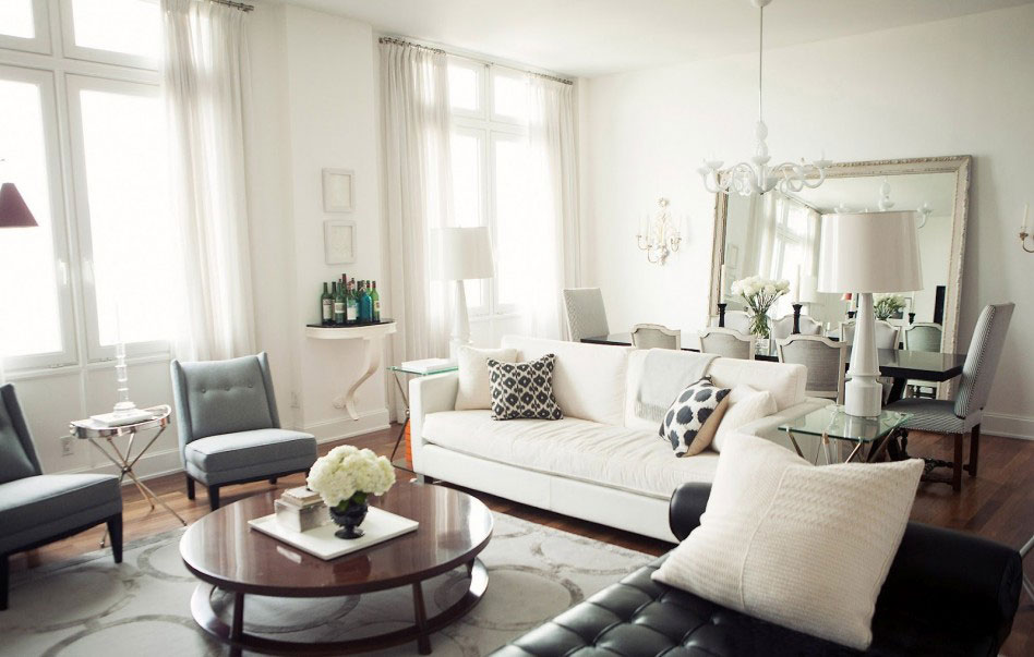 Living-and-dining room interior design-2 examples of living room and dining room interior design to check out