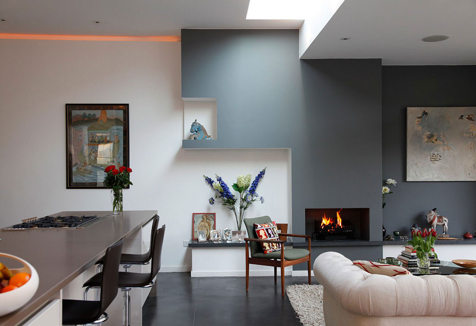 Living-and-dining room interior design-3 examples of living room and dining room interior design to check out