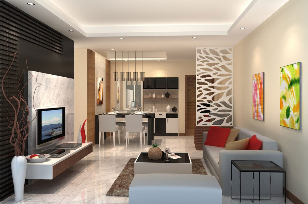 Living-and-dining room interior design-5 examples of living room and dining room interior design to check out