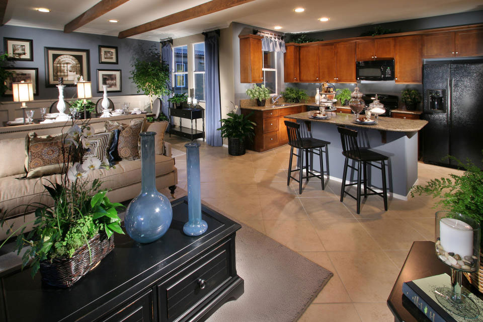 Living-and-Dining-Interior-Design-13 examples of living-dining room interior design to check out