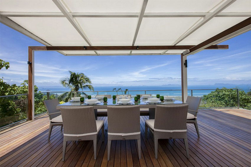 Modern-Tropical-VIlla-4 Modern tropical VIlla with a huge, sparkling pool