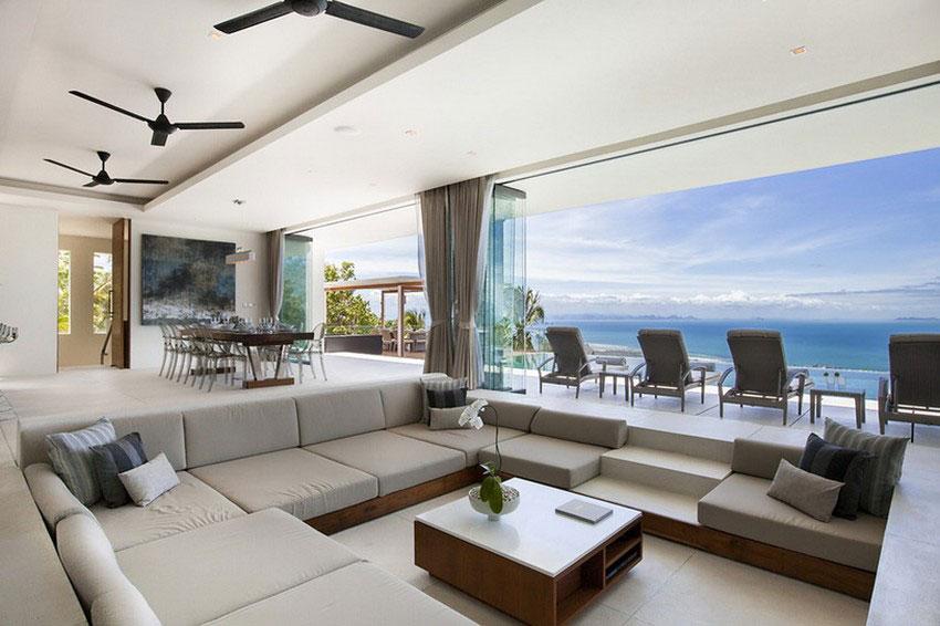 Modern-Tropical-VIlla-6 Modern tropical VIlla with a huge, sparkling pool