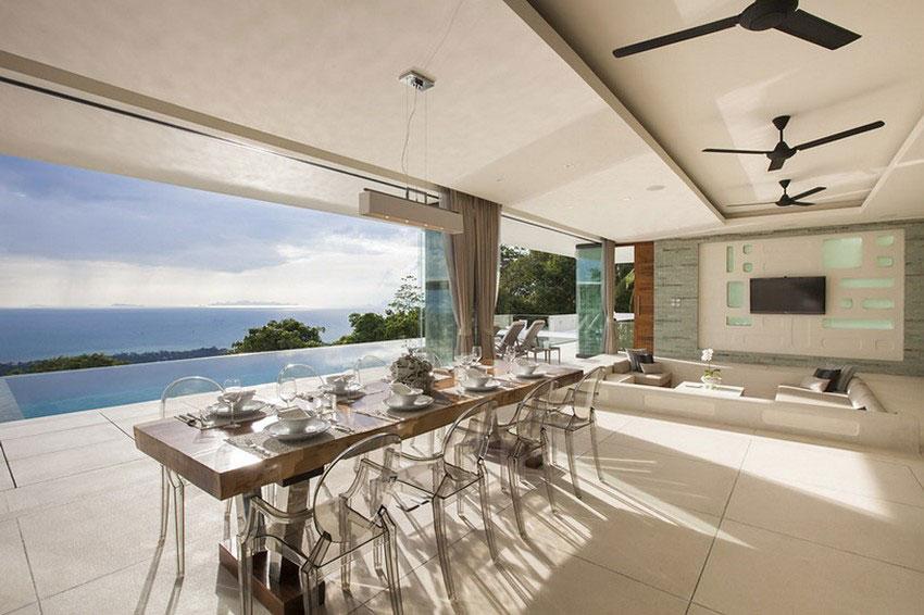 Modern-Tropical-VIlla-7 Modern tropical VIlla with a huge, sparkling pool
