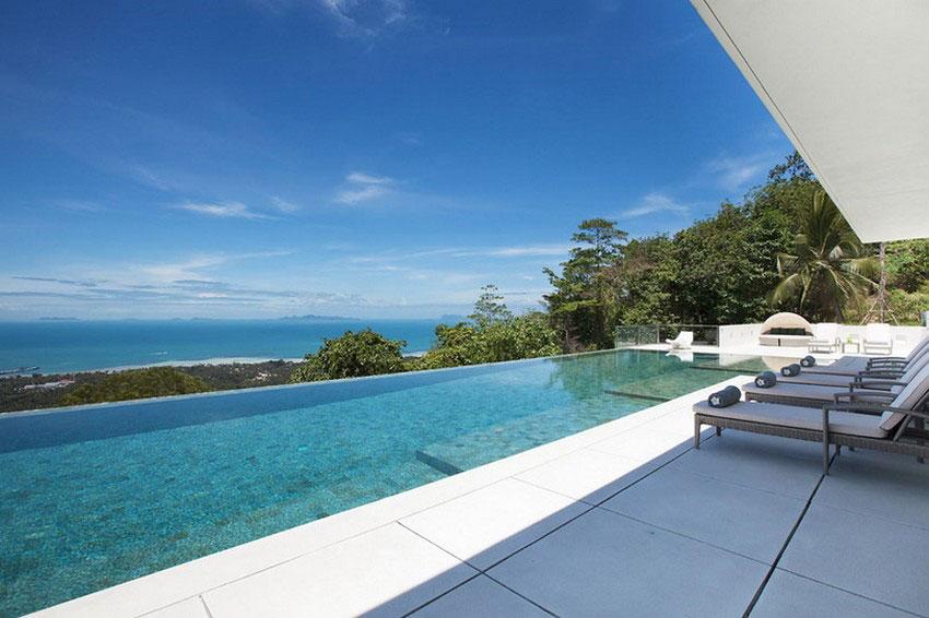 Modern-Tropical-VIlla-2 Modern tropical VIlla with a huge, sparkling pool