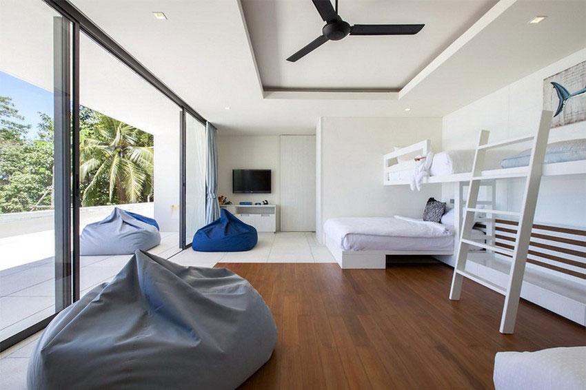 Modern-Tropical-VIlla-12 Modern tropical VIlla with a huge, sparkling pool