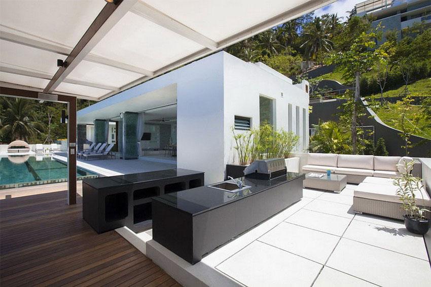 Modern-Tropical-VIlla-17 Modern tropical VIlla with a huge, sparkling pool