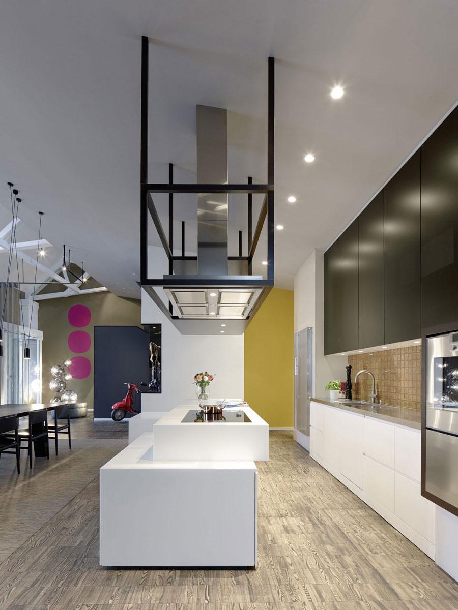 5 Modern and futuristic interior design for a loft