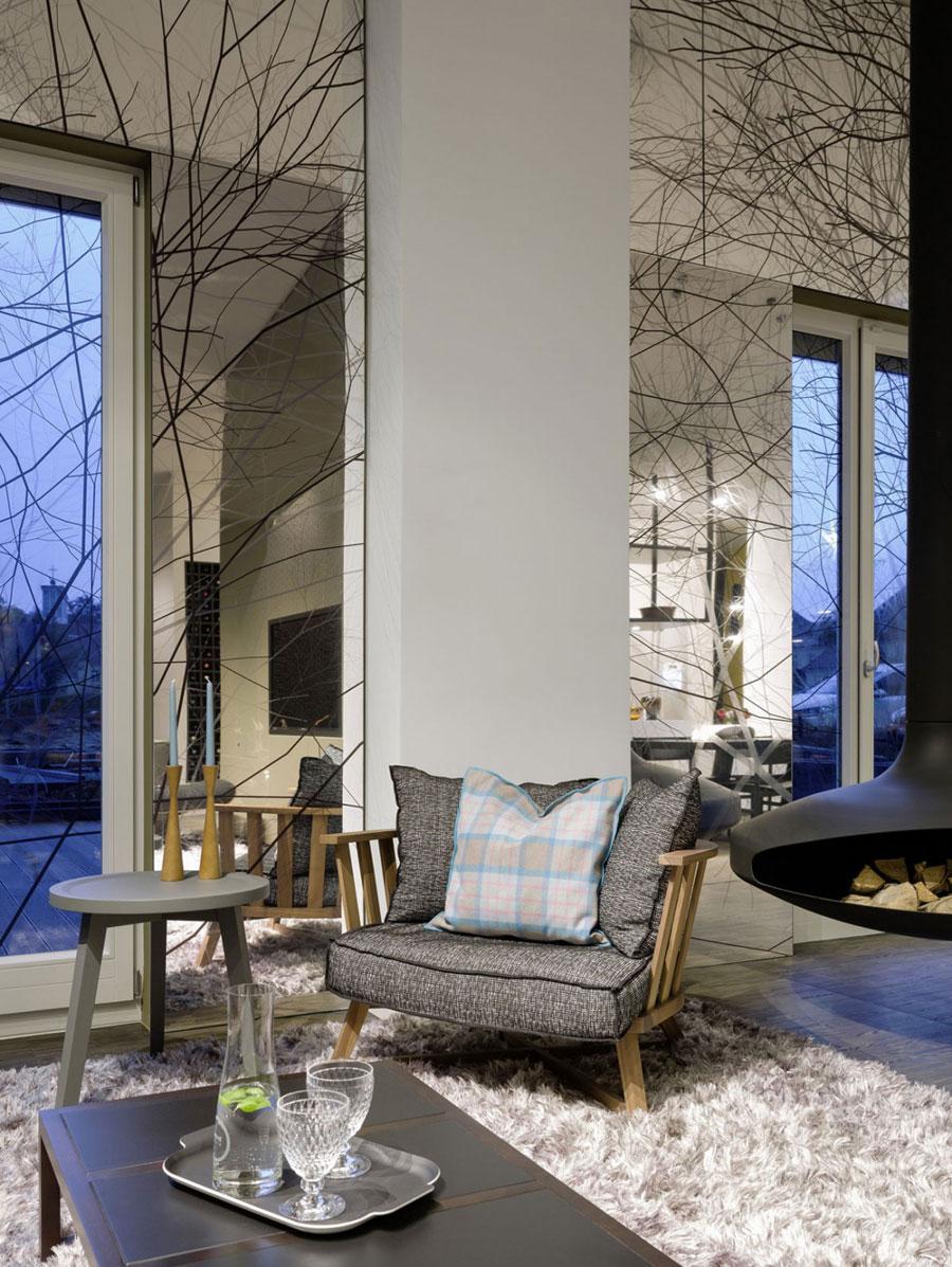 3 Modern and futuristic interior design for a loft