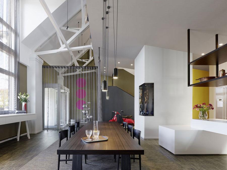 9 Modern and futuristic interior design for a loft