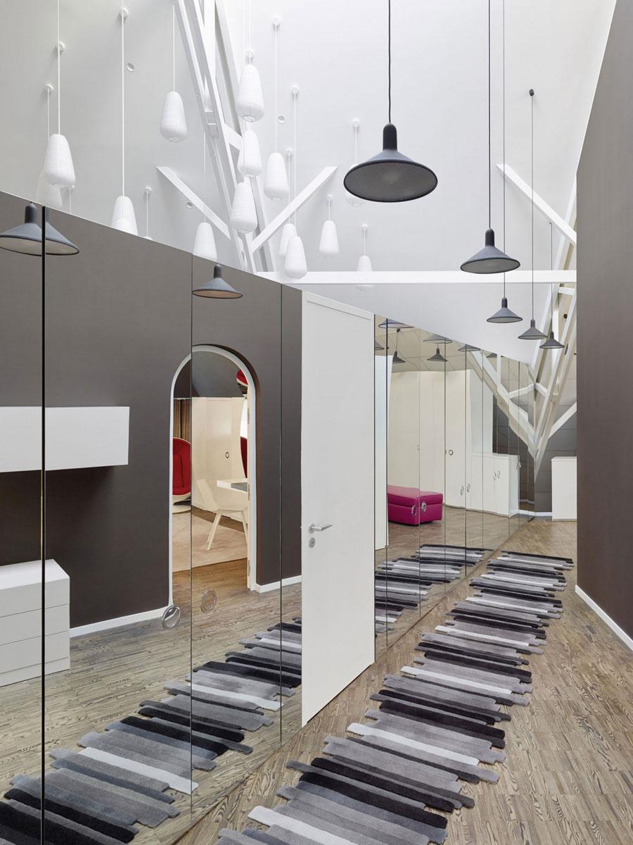 13 Modern and futuristic interior design for a loft