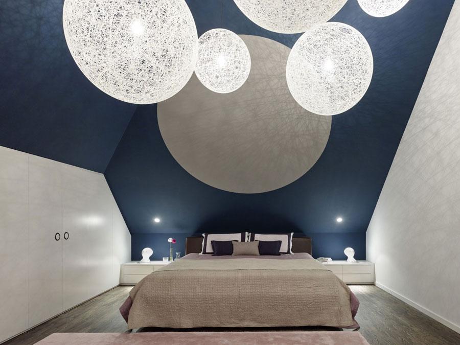 11 Modern and futuristic interior design for a loft