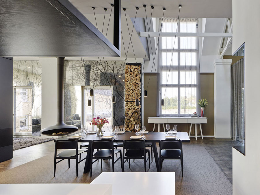 10 modern and futuristic interior design for a loft