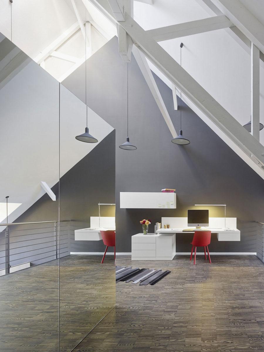 14 Modern and futuristic interior design for a loft