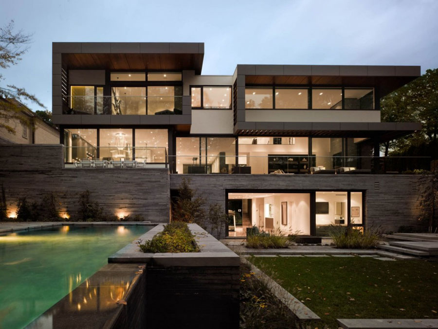 Toronto-Residence-by-Belzberg-Architects If you ever design your own home, do it with architecture like this one