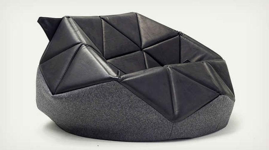 2 strange but visually impressive chair designs