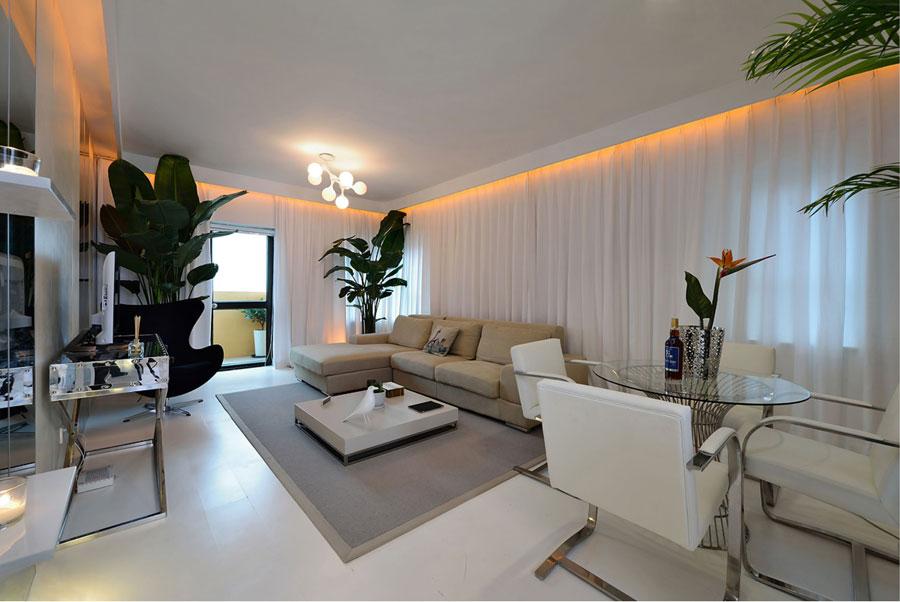3 Showcase: Apartment Interior Design Inspiration