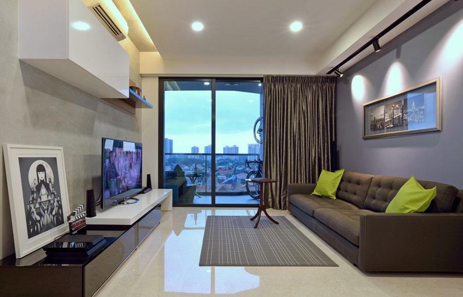 2 shop windows: Apartment Interior Design Inspiration