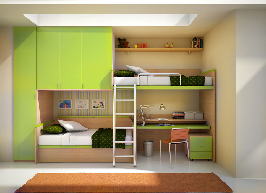 2 modern bunk bed designs and ideas for your child's room