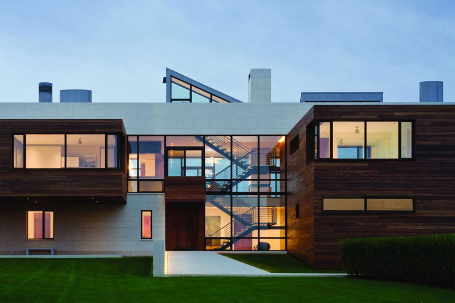 7 An architectural marvel of a modern home designed by Alexander Gorlin Architects