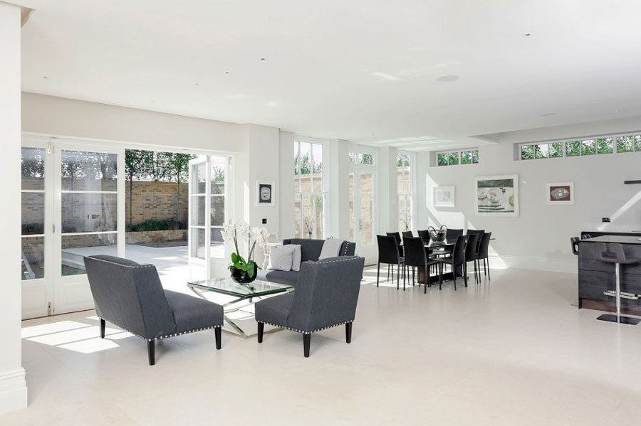 4 stylish British home with spacious and elegant interior design