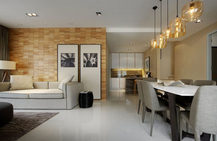 83422290343 Elegant interior design in Kuala Lumpur by Blu Water Studio