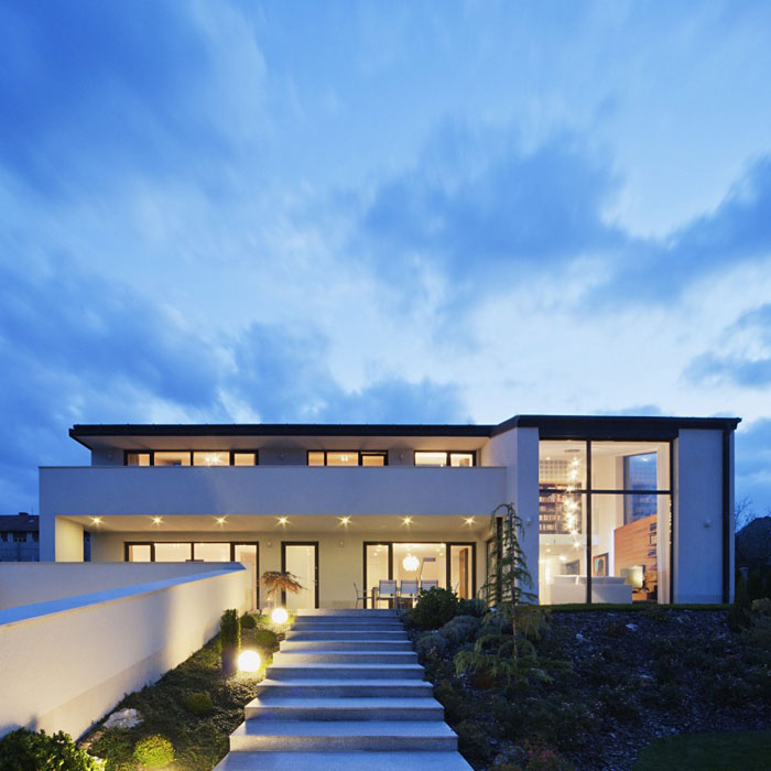 81677657440 Modern sommelier house designed by Sandor Duzs and Architema