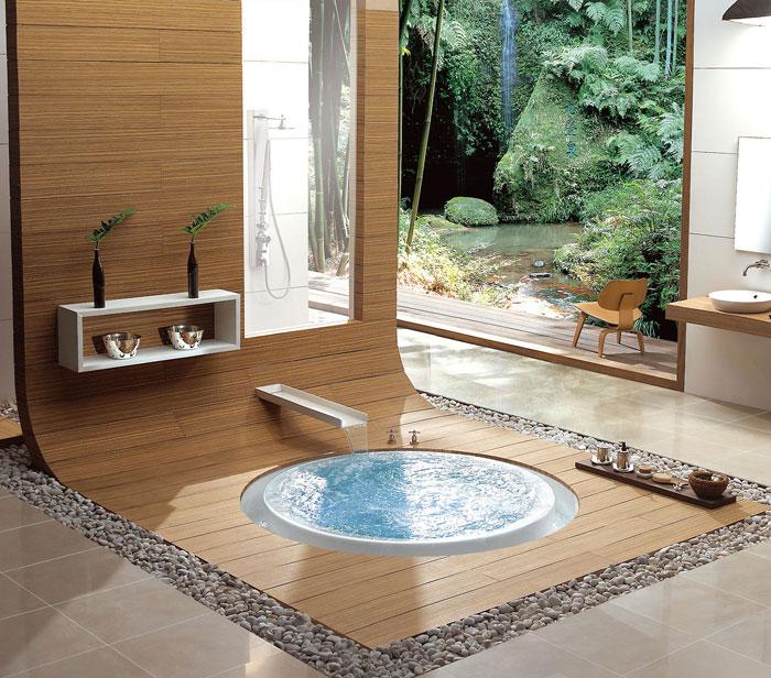79456076672 The elegant design of Japanese-style bathrooms