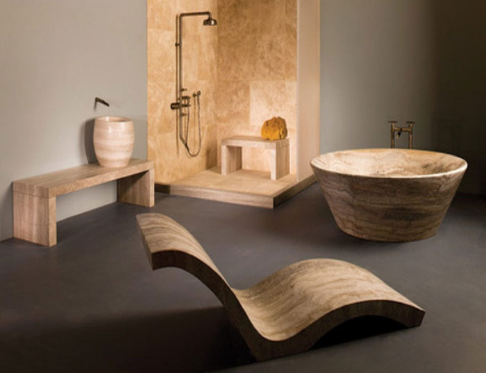 79456063211 The elegant design of Japanese style bathrooms