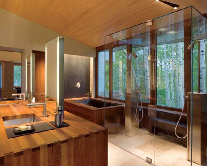 79456160400 The elegant design of Japanese-style bathrooms