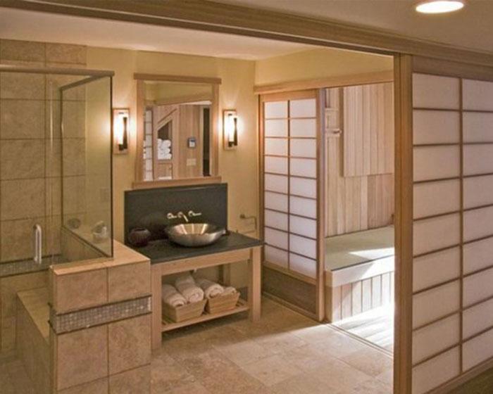 79456128070 The elegant design of Japanese-style bathrooms