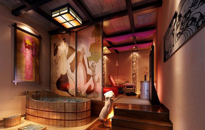 79456111006 The elegant design of Japanese-style bathrooms