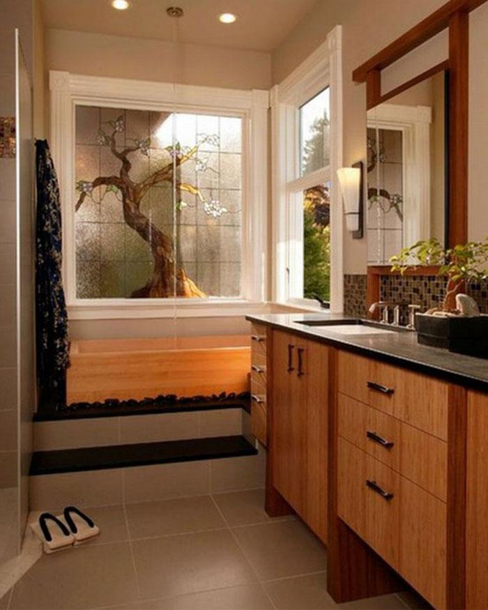 79456135846 The elegant design of Japanese style bathrooms