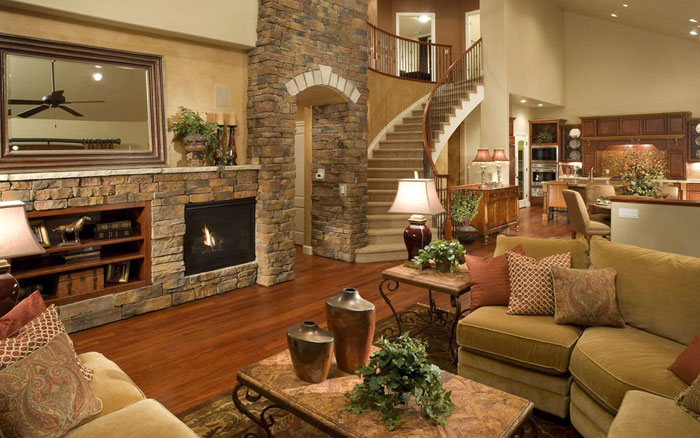 77605204031 Modern and rustic living room design ideas that you will like
