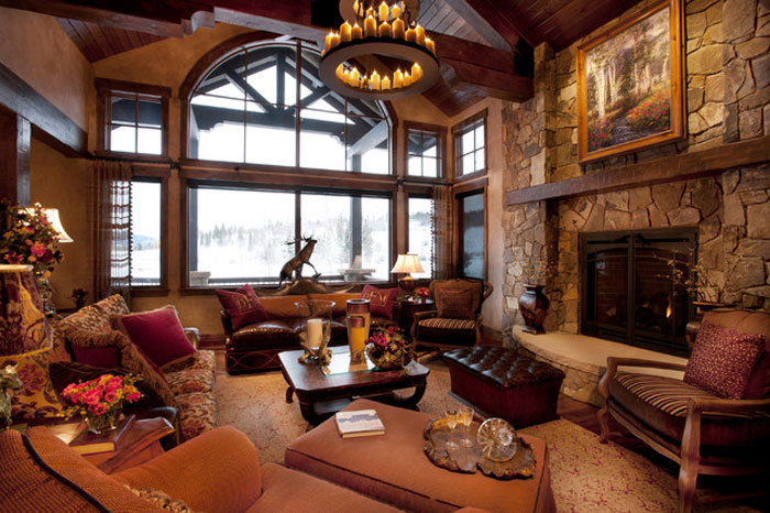 77605742037 Modern and rustic living room design ideas that you will like