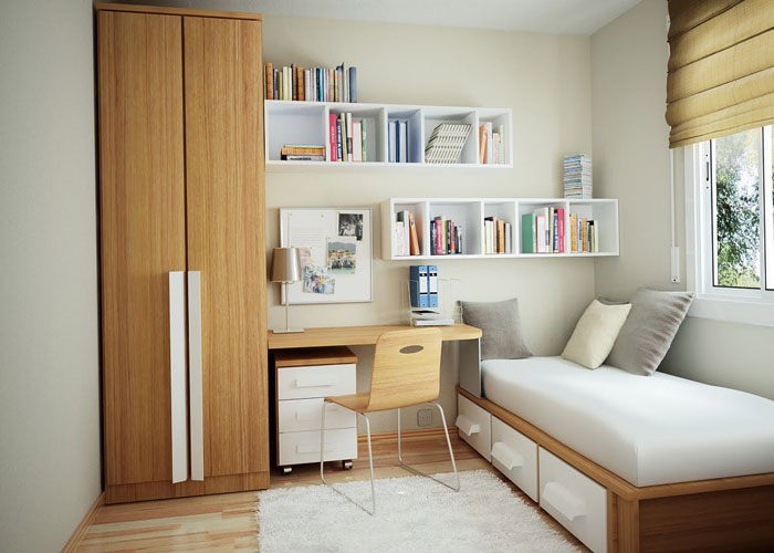 76955295418 Proof that a small bedroom interior can look great