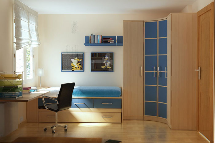 76955211932 Proof that a small bedroom interior can look great