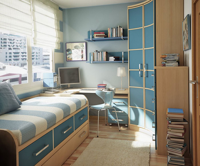 76955421737 Proof that a small bedroom interior can look great