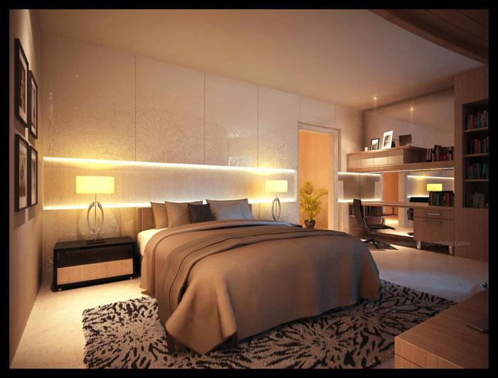 75886131889 Interesting ideas for bedside lighting in your bedroom