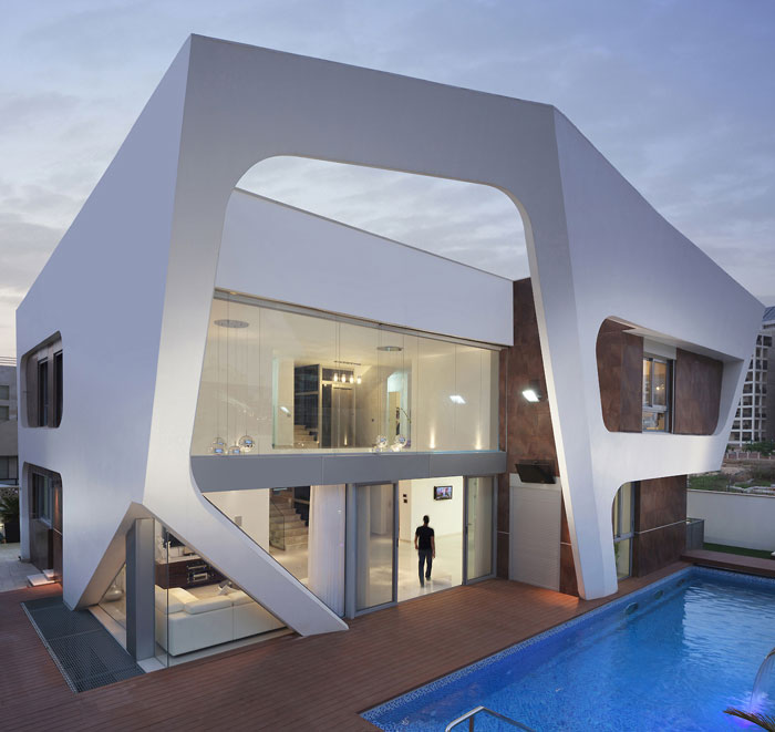 75581240163 Modern and creative house architecture - 21 examples