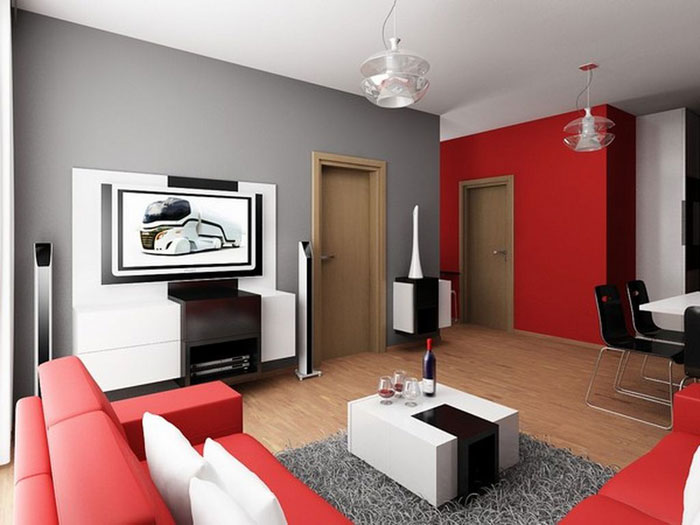 73746283731 Great ideas for furnishing modern apartments