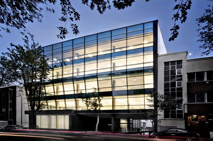 73304371355 Office building with modern architecture that you want to work in