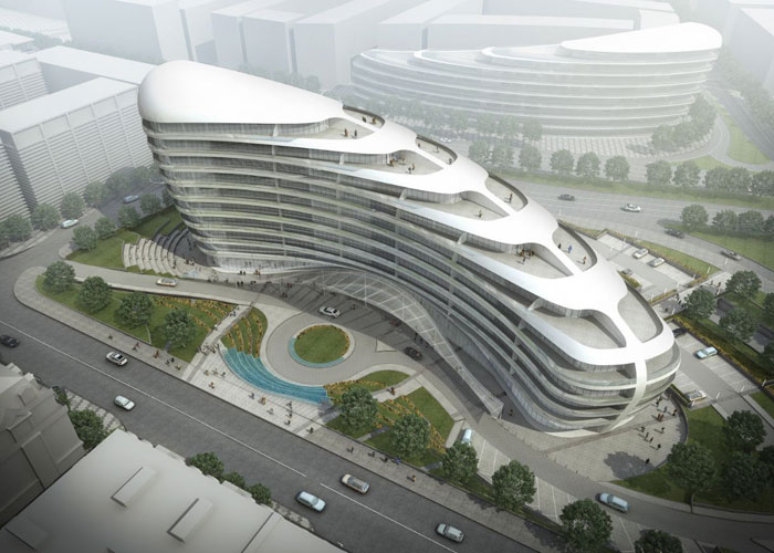 73304275159 Office building with modern architecture that you want to work in