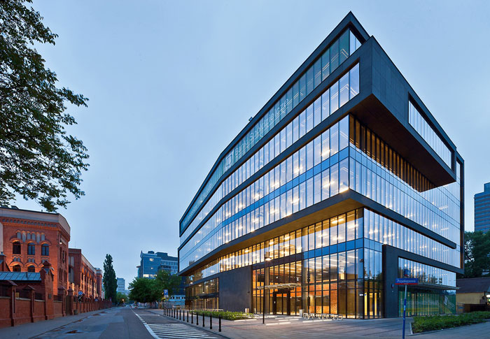 73304465889 Office building with modern architecture that you want to work in