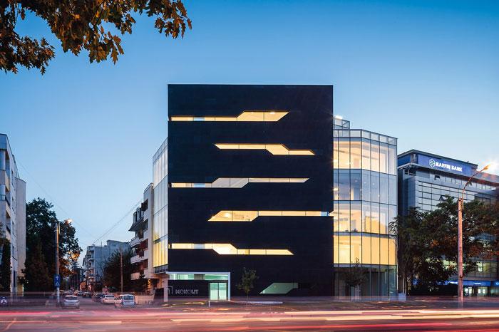 73304443335 Office building with modern architecture that you want to work in