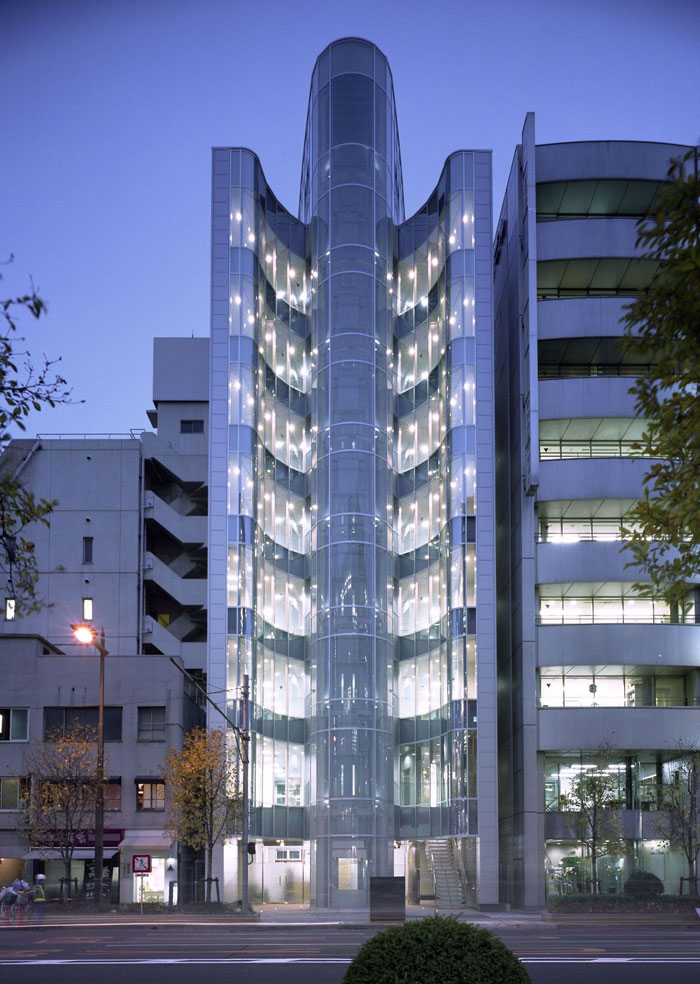 73304410012 Office building with modern architecture that you want to work in